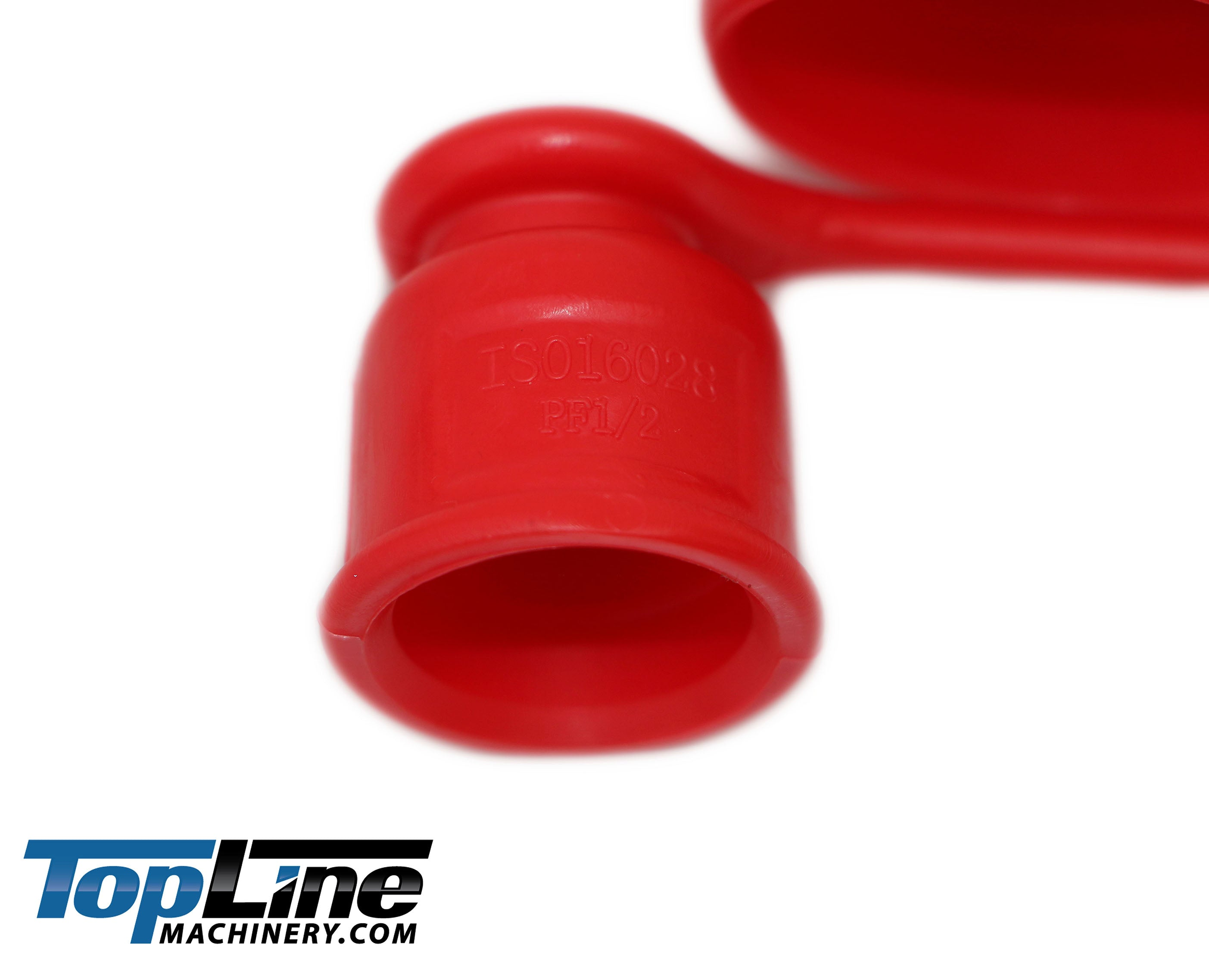 Red Male Dust Cap and Female Plug Cover for Flat Face Quick Coupler Bobcat Skid Steer OIIKI 3//4 Hydraulic Coupler Dust Cap ISO A Pioneer Style Hydraulic Quick Disconnects Port Plug Fittings