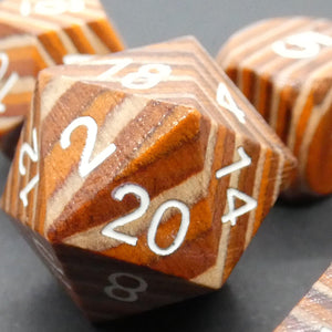 Wood Dice | DICEBOUND ✦ Your Canadian Dice Company