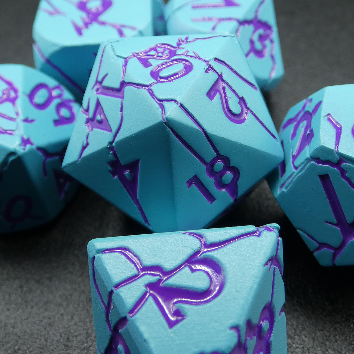 Exclusive Metal Dice