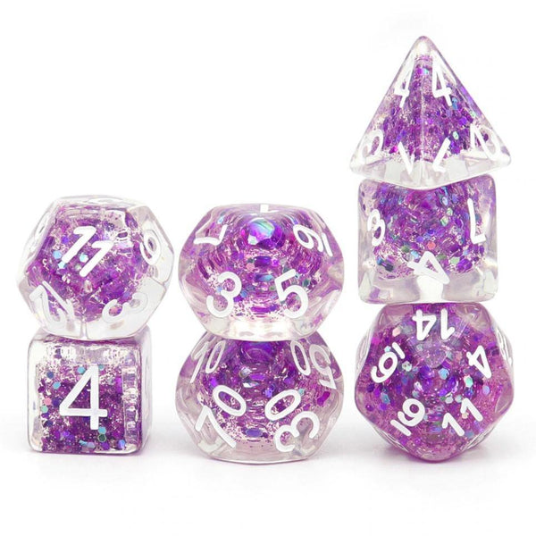 Amethyst - RPG Dice Set | DICEBOUND ✦ Your Canadian Dice Company