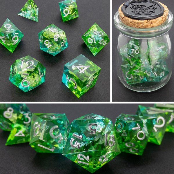Atlas Handcrafted Dice Set (Pre-order) | DICEBOUND ✦ Your Canadian Dice Company