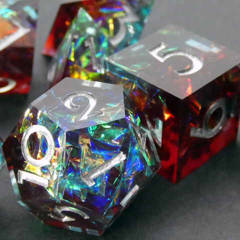 Calypso Handcrafted Dice Set (Pre-order) | DICEBOUND ✦ Your Canadian Dice Company