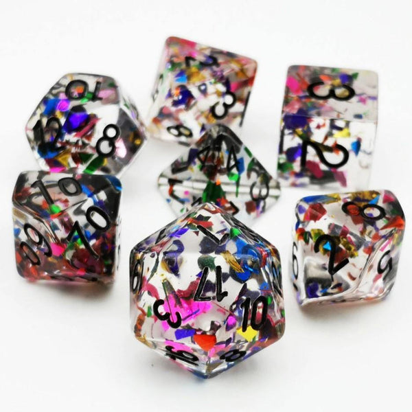 Celebration - RPG Dice Set | DICEBOUND ✦ Your Canadian Dice Company