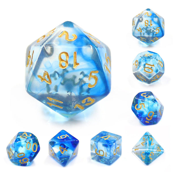 Deep Sea - RPG Dice Set | DICEBOUND ✦ Your Canadian Dice Company