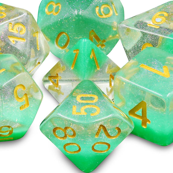 Fern - RPG Dice Set | DICEBOUND ✦ Your Canadian Dice Company
