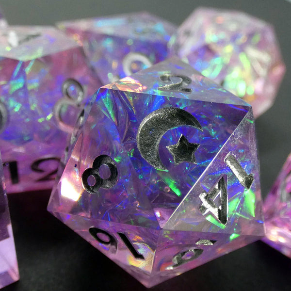 Stardust Handcrafted Dice Set (Pre-order) - DICEBOUND