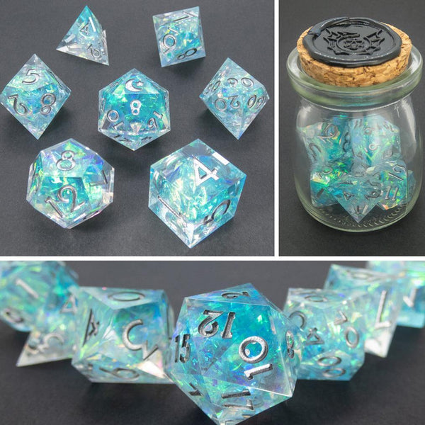 Polaris Handcrafted Dice Set (Pre-order) - DICEBOUND