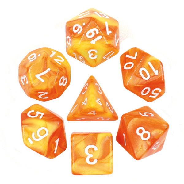 Satsuma - RPG Dice Set - DICEBOUND