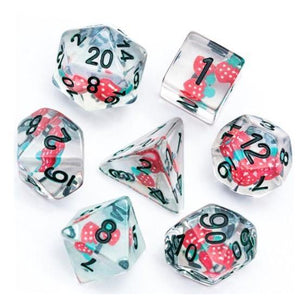 Strawberry - RPG Dice Set - DICEBOUND