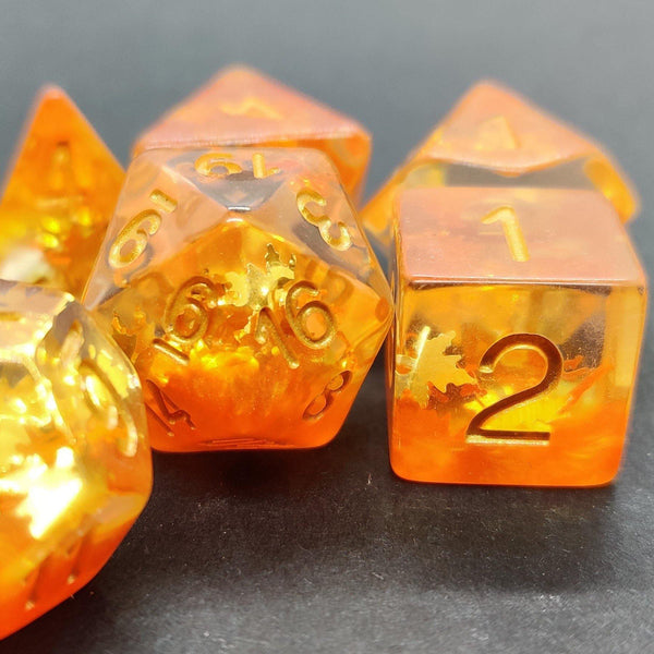 Autumn - RPG Dice Set | DICEBOUND ✦ Your Canadian Dice Company