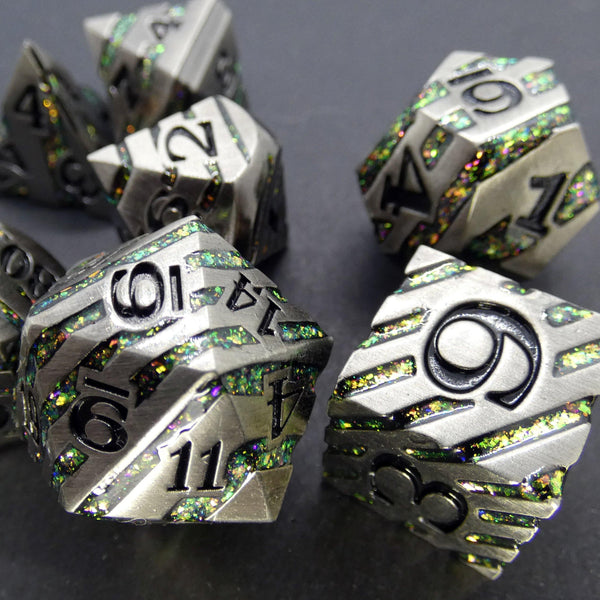 Faith - Metal RPG Dice Set | DICEBOUND ✦ Your Canadian Dice Company