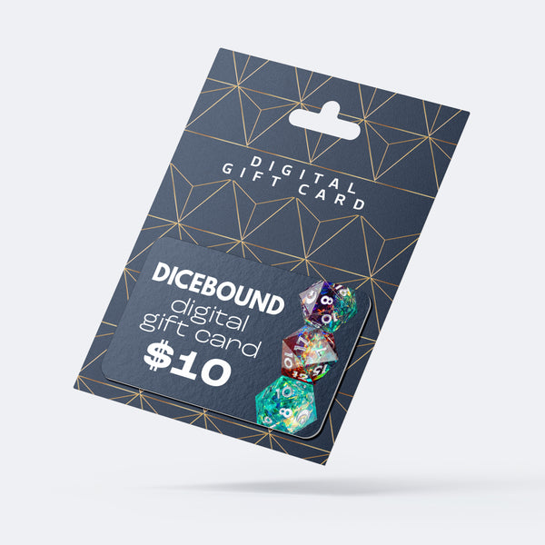 Dicebound Gift Card | DICEBOUND ✦ Your Canadian Dice Company