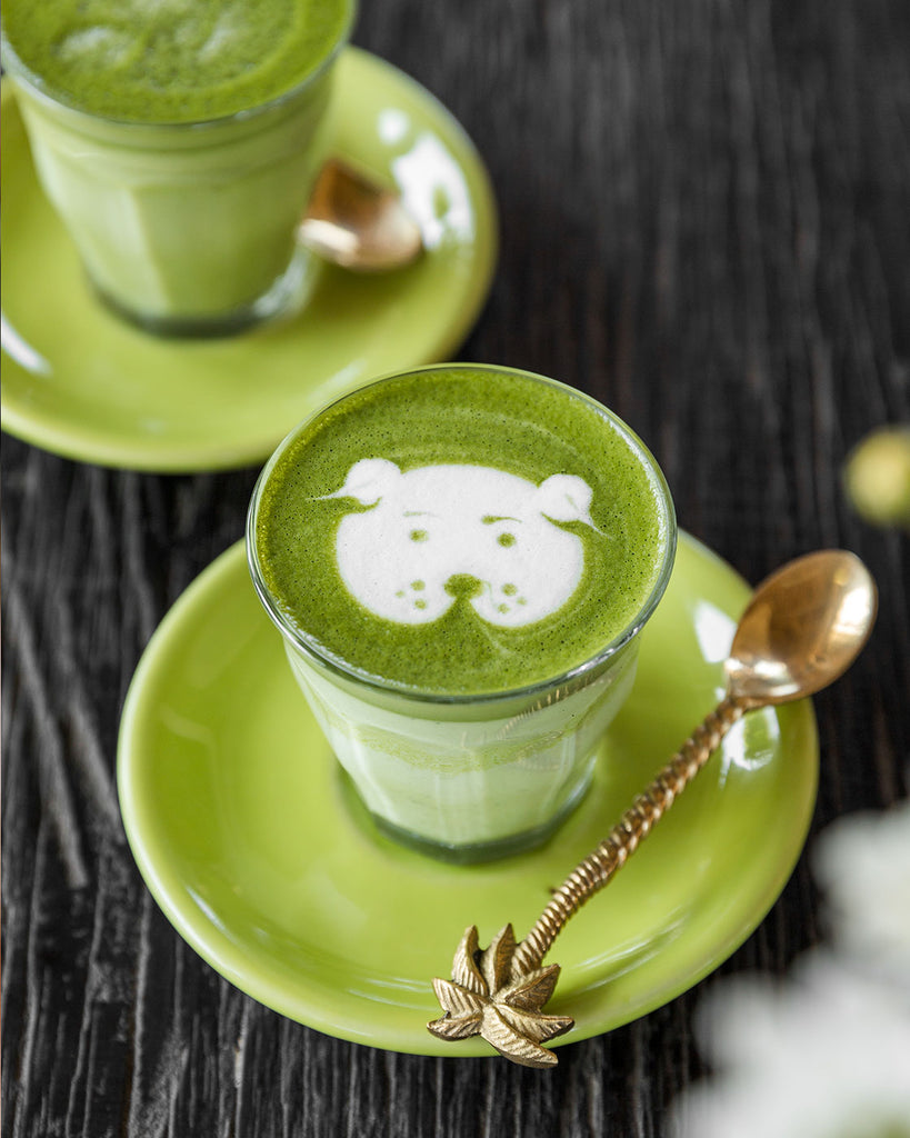 The best matcha latte in Bali with your choice of almond, coconut, soy or cow milk, only at Matcha Cafe Bali