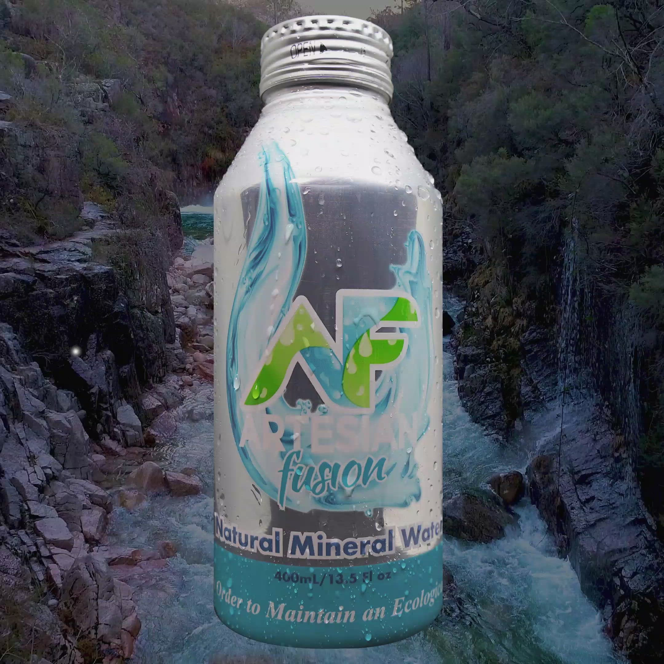 NATURAL MINERAL WATER 24 PACK