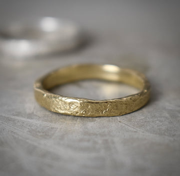 Granite Gold Medium Ring