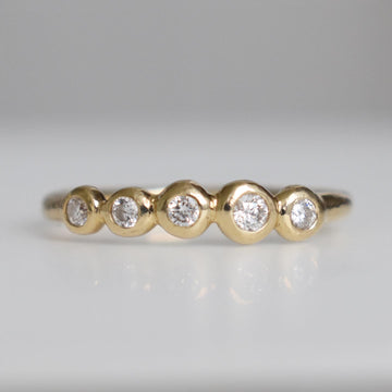 Island Gold Diamond Ring