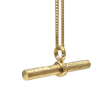 Granite Gold T Bar Necklace