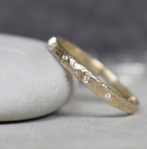 Archipelago Gold Narrow Ring