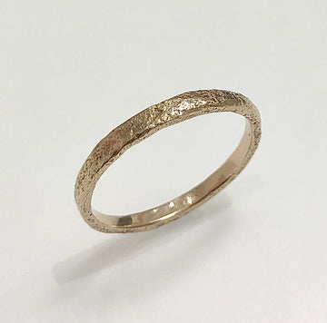 Granite Narrow Gold Ring