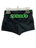 Speedo Aquashorts - Logo (Black/Green)