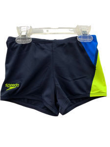 Speedo Aquashorts - Racer (Navy/Blue/Yellow)