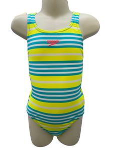 Speedo Medalist One Piece - Summer Stripes