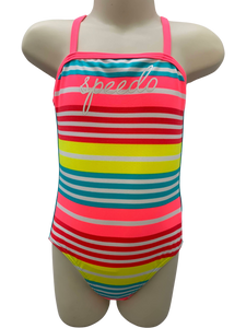 Speedo Crossback One Piece - Summer Stripes