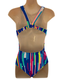 Speedo Leaderback One Piece - Cosmic Sky