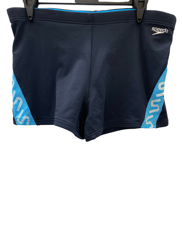 Speedo Mens Aquashort - Monogram (Navy/Blue)