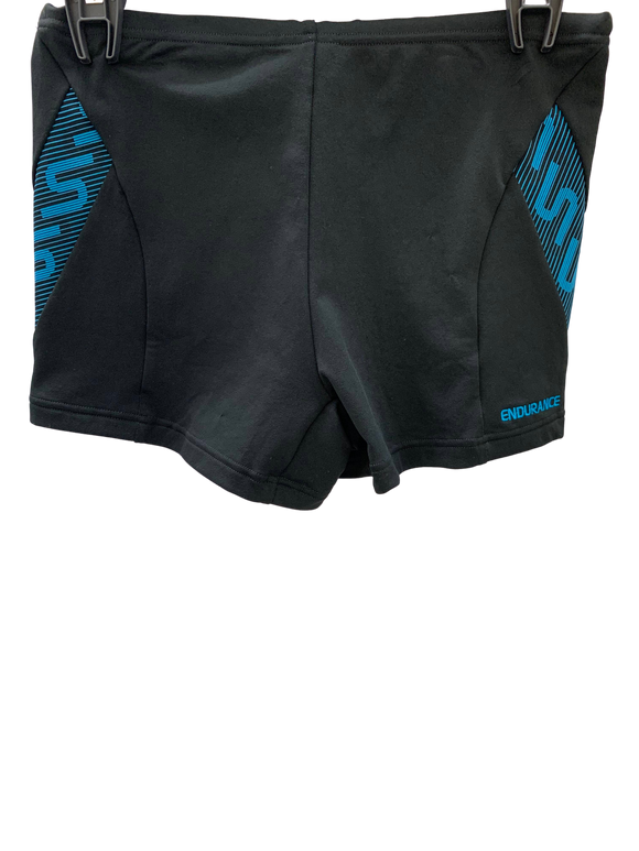 Speedo Mens Aquashort - Monogram (Black/Blue)