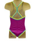 Speedo Sierra Twinback One Piece - Magenta Purple