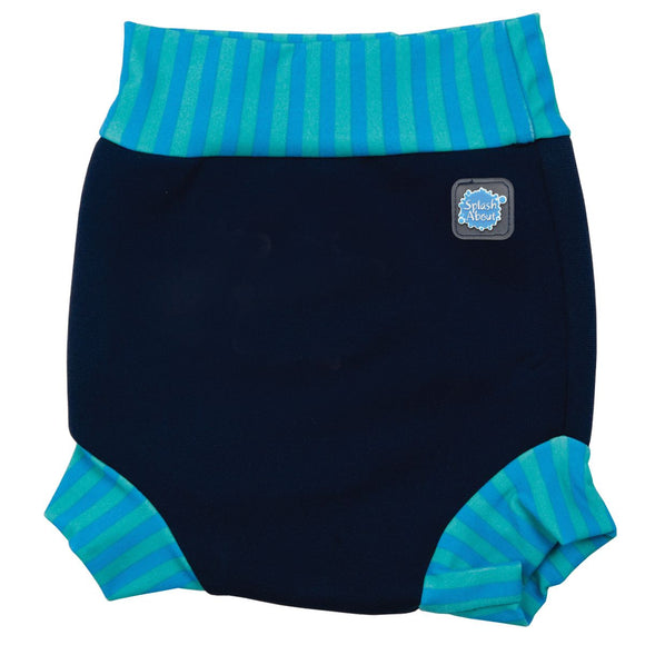 Happy Nappy - Navy/Blue Lagoon