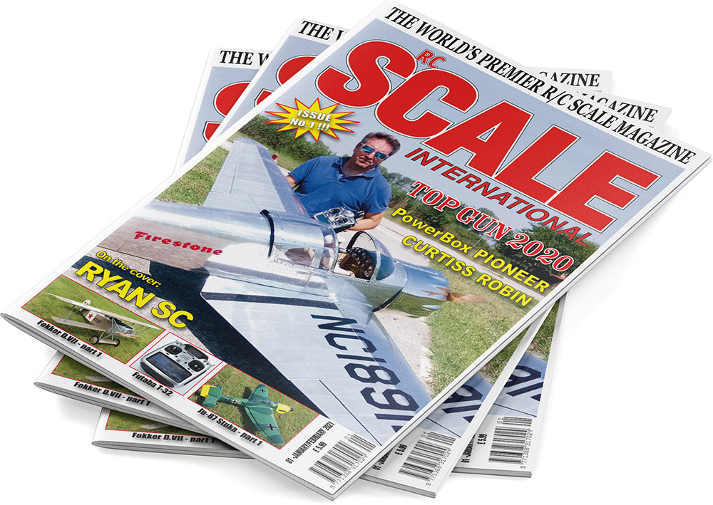 RC Scale International Magazine - European Subscription
