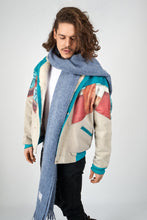 """Upload the image to the Gallery viewer, """"Sky Routine Oversize Shawl -Scarves snugbrandwear"""""""