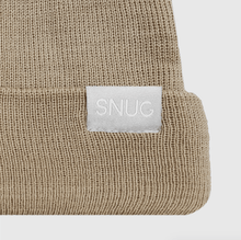"""Upload the image to the Gallery viewer, """"Sand College Beret Beanie snugbrandwear"""""""