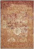 Evelyn Copper Red Multi-Colour Faded Rug