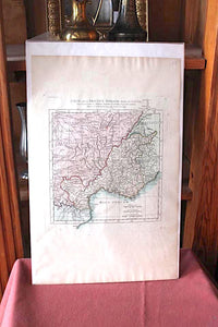 Antique French Provence Map