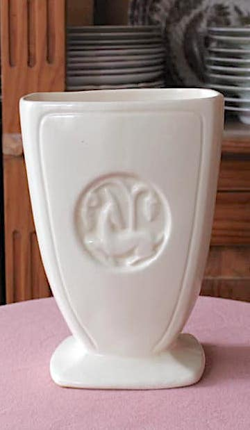 Art Deco Gazelle Vase