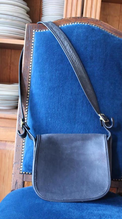 Black Coach Saddlebag