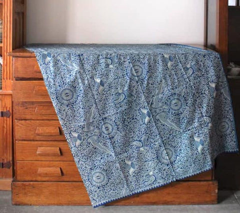 Blue Lightweight Tablecloth
