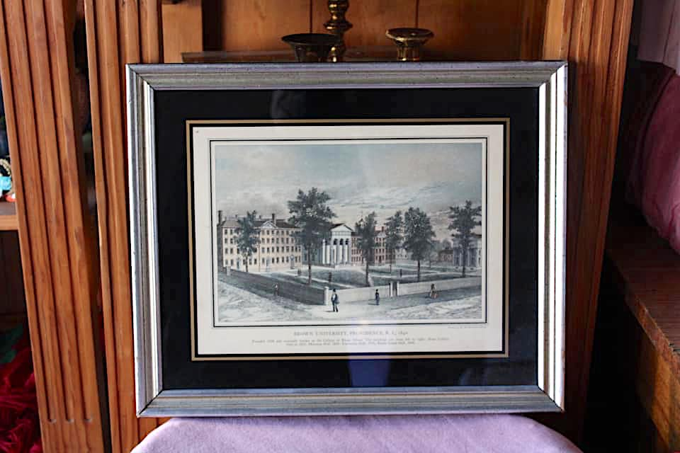 Brown University Framed Print