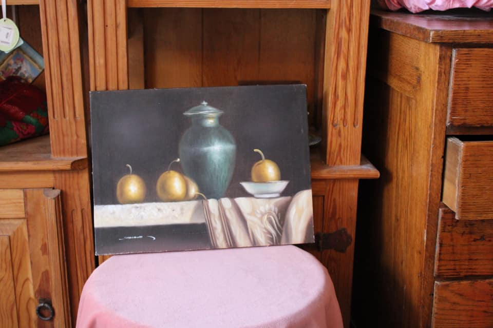 Still Life Pears Painting