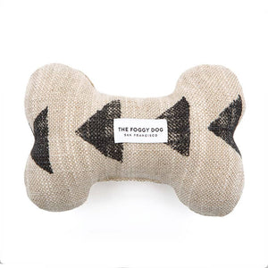 Amani Sand Dog Bone Squeaky Toy