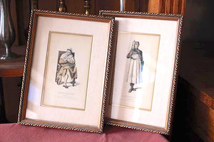 Pair of Framed French Medical Prints