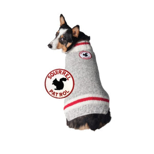 Squirrel Patrol Dog Sweater