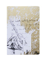 PAPIER Romantic Notebook Gold (S)