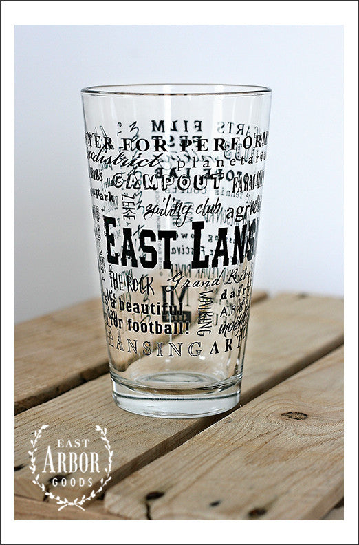 East Lansing Glass - East Arbor Goods