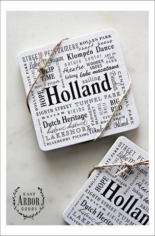 Holland Coasters, Set of 6 - East Arbor Goods