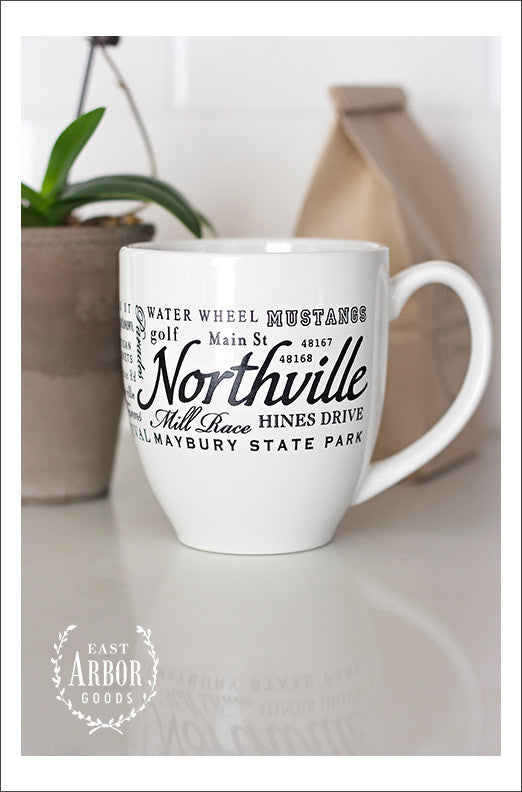 Northville Mug - East Arbor Goods