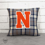 Northville Varsity Letter Pillow - East Arbor Goods